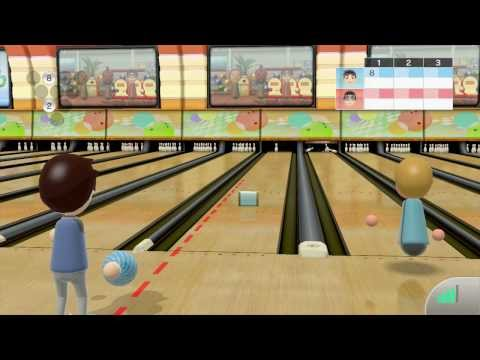 Liveplay - Wii U - Wii Sport Club - Bowling Online (100 et avec obstacles)