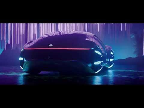 CES 2020: Mercedes-Benz VISION AVTR