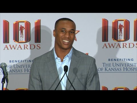 Marcus Peters 101 Awards Press Conference