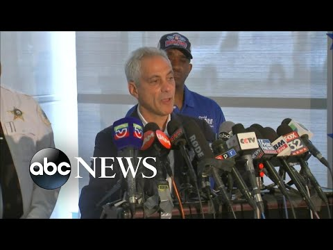 Chicago mayor pleads with residents amid gun violence