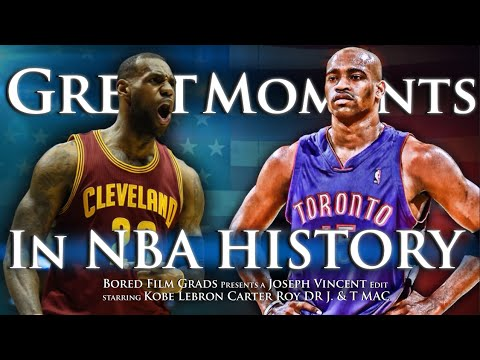 Thumbnail: Great Moments In NBA History - Volume 2