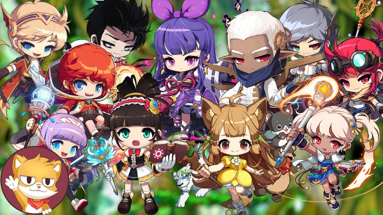 All Magician Classes | Rated | Gameplay and Skills | MapleStory 2021