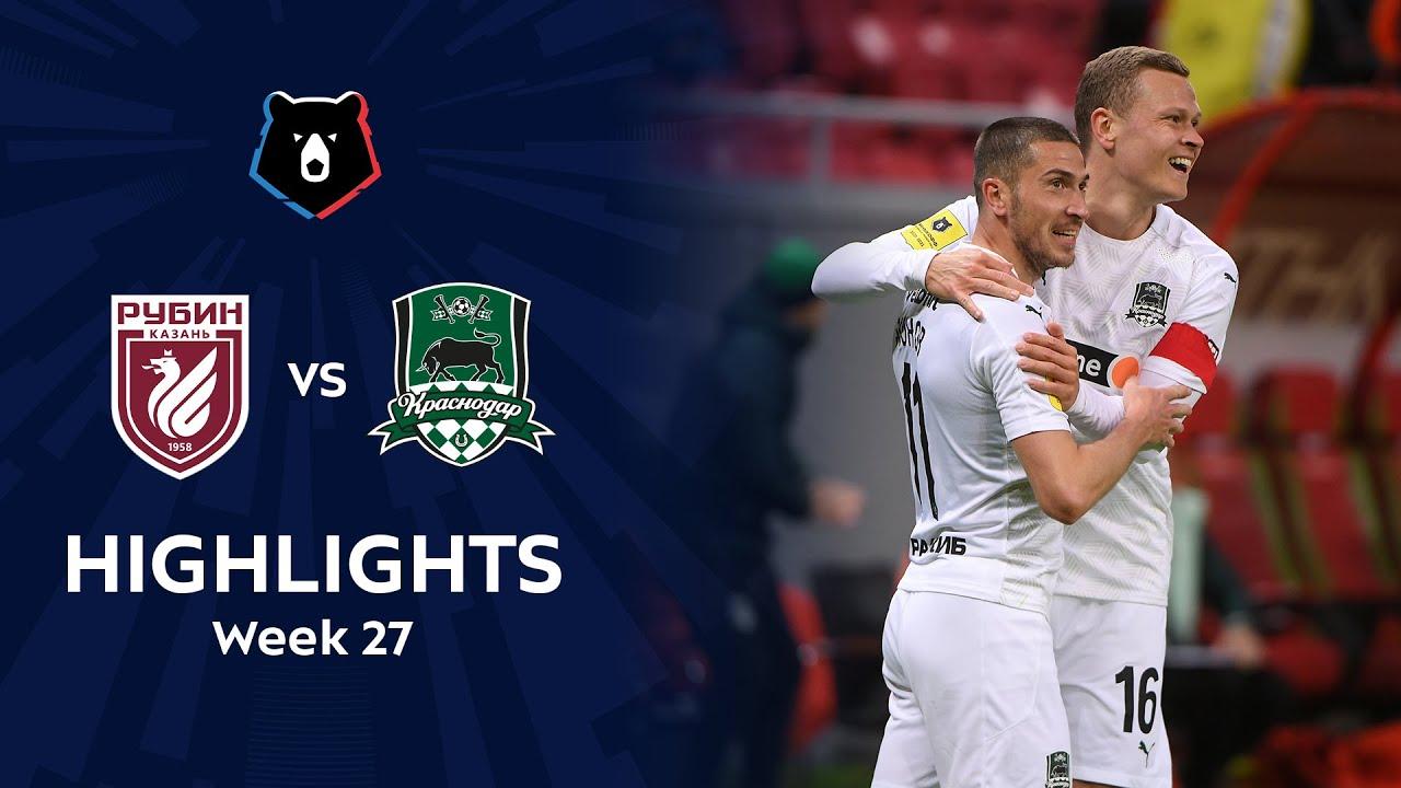 Download Highlights Rubin vs FC Krasnodar (0-1) | RPL 2020/21