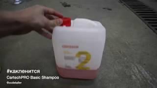 #какпенится CarTechPro Basic Shampoo
