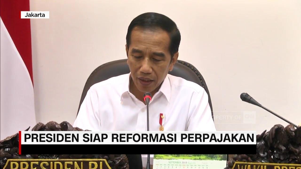 Download Presiden Jokowi Siap Reformasi Pajak
