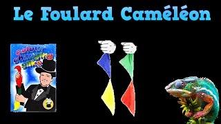 """Tour de magie : """" Les foulards caméléon """""""
