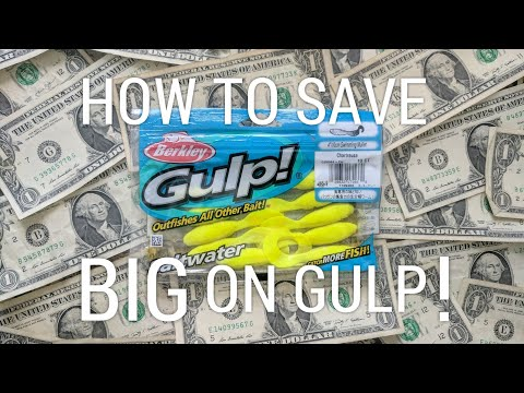 How to Save BIG on Gulp! (Frugal Fishing)