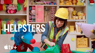 Helpsters - Building a Sandcastle | We've Got A Plan! | Apple TV+