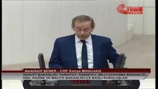 CHP KONYA MİLLETVEKİLİ ABDÜLLATİF ŞENER MECLİS KONUŞMASI-11 ARALIK 2019