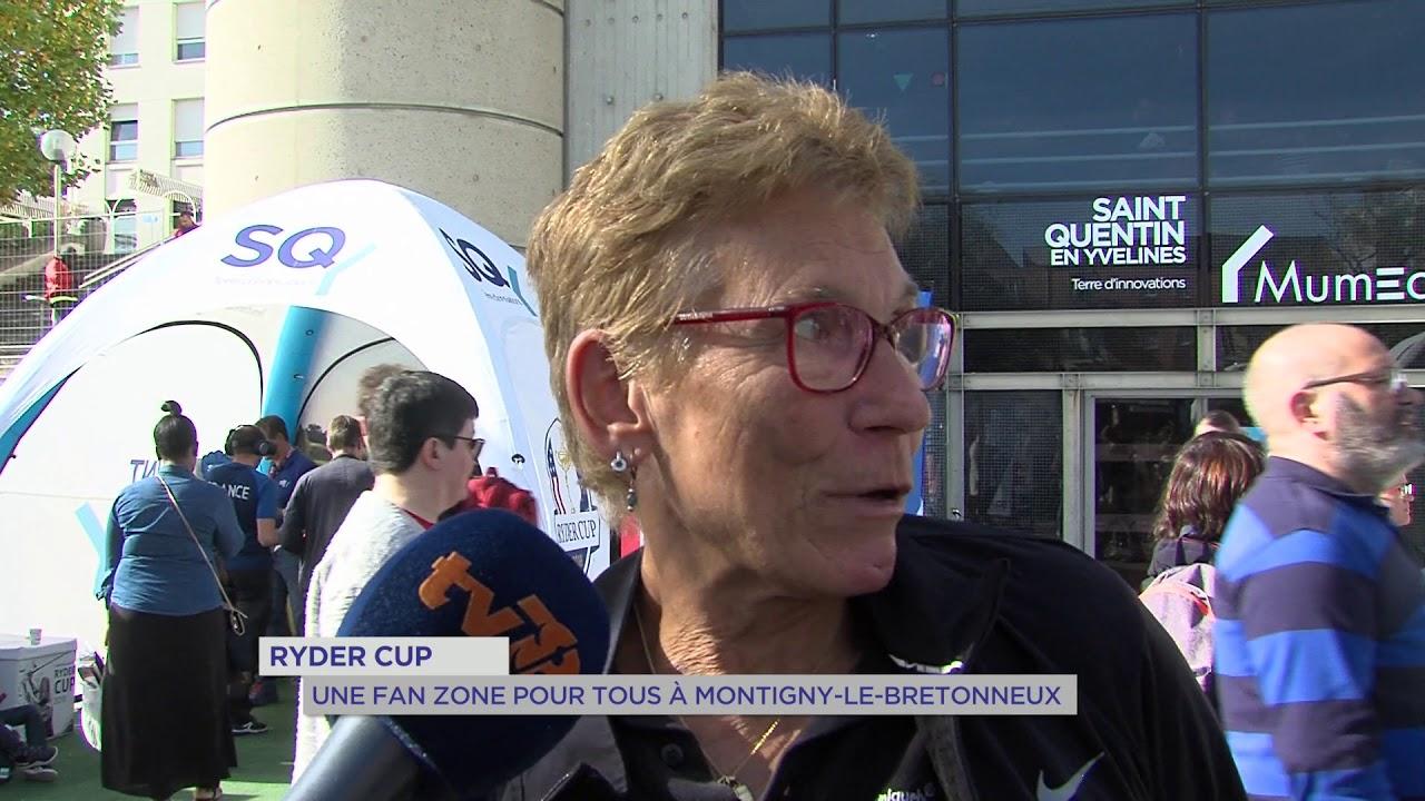 Ryder Cup : Une fan zone pour tous à Montigny