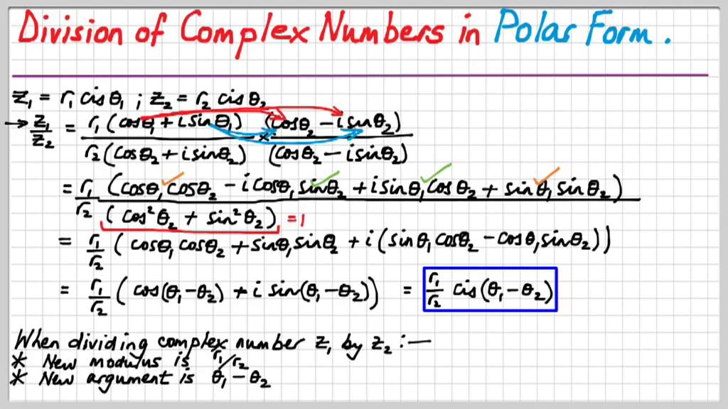 SM4D Complex Numbers. Basic Operations in Modulus Argument aka ...