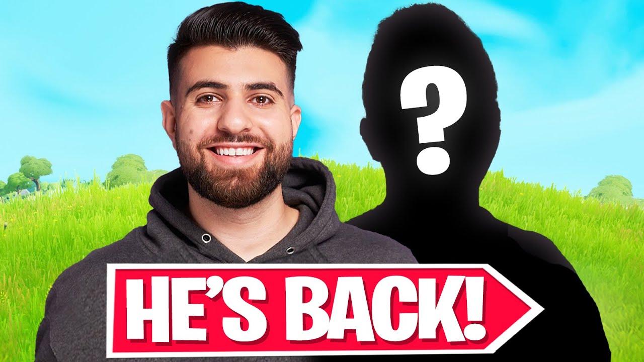 Download He's FINALLY Back on Fortnite!