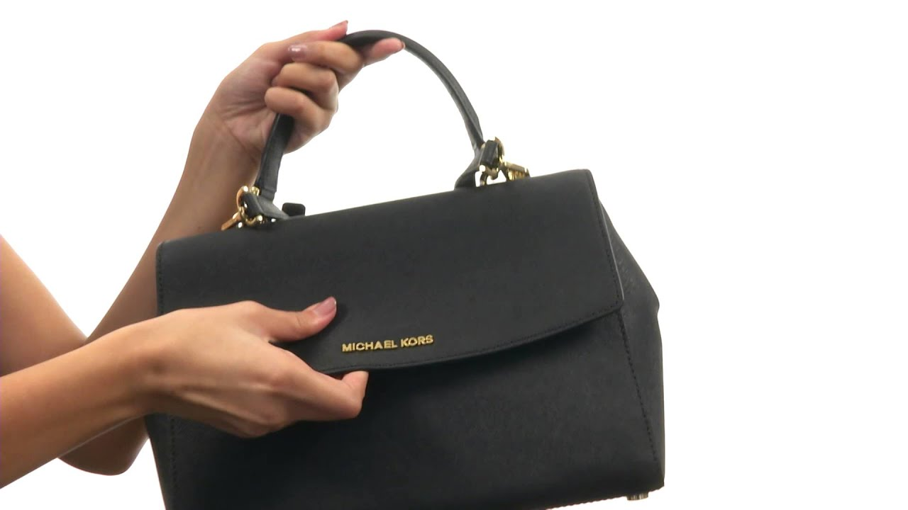 94de7eb301268 MICHAEL Michael Kors Ava Medium TH Satchel SKU 8644609 - YouTube