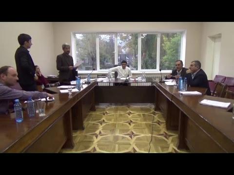 Գորիս համայնքի ավագանու նիստ 18.10.2018