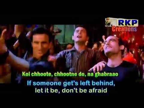 Koi Kahe Kehta Rahe - Dil Chahta Hai (2001) - Karaoke with English Subtitles