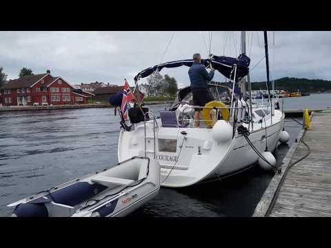 # 4 - CRUISING AROUND SOUTHERN TIP OF NORWAY, Blindleia area - enjoying life