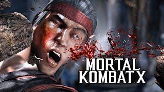 Mortal Kombat X -  ИГРА НА ЭКСПЕРТЕ (Жесть)(Mortal Kombat X - играем и страдаем на уровне