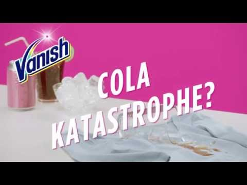 Cola Katastrophe - Wie Entfernt Man Cola Flecken Mit Vanish GOLD Oxi Action?