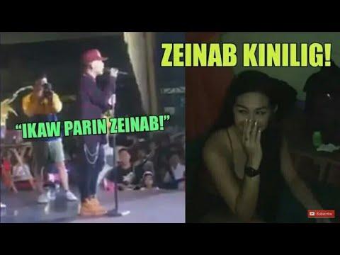 SALAMAT SA PAG IBIG MO - live (Skusta Clee&Zeinab nag sabay sa concert)