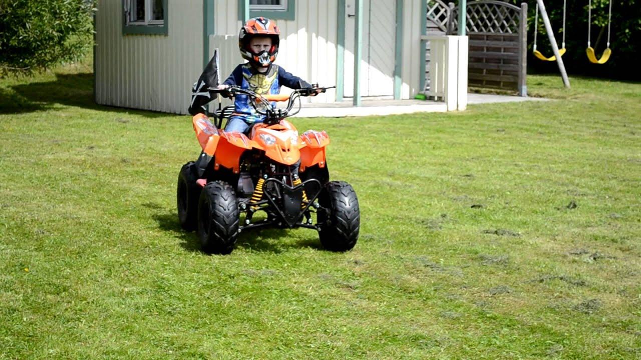 Test Nikon 3100 Video of ATV 90 cc - YouTube