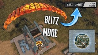 NEW BLITZKRIEG GAME MODE IN RULES OF SURVIVAL! CRAZY FAST PACE GAMEPLAY! (iOS/Android/PC)