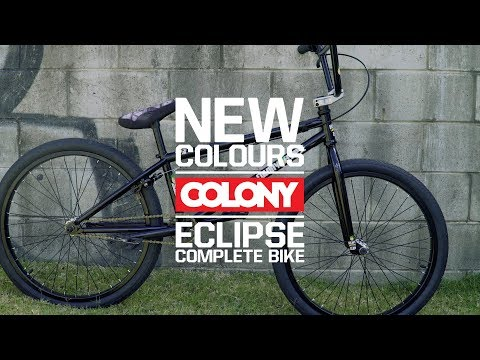 The Colony Eclipse complete bike is perfect for cruising the burbs or handing out with the kids, available now! More info here: ...