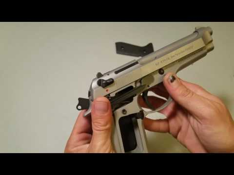 Beretta 92fs safety fail