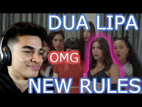 DUA LIPA-NEW RULES REACTION
