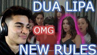 DUA LIPA-NEW RULES REACTION