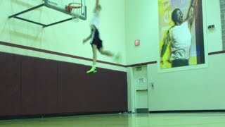 Raw dunks :: Jordan Kilganon 5am session after All Nighter. (dunks and misses)
