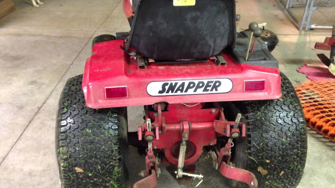 Sner 1855a With Three Point Hitch And Pto