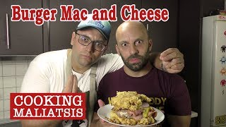 Cooking Maliatsis - 75 Burger Mac and Cheese