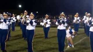 Streetsboro High School Marching Rockets @ James A. Garfield High School 10/25/13 ᴴᴰ