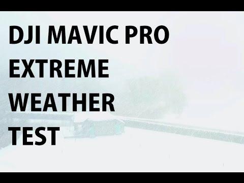 DJI MAVIC PRO Extreme Weather Test and Cargo Ship Chase