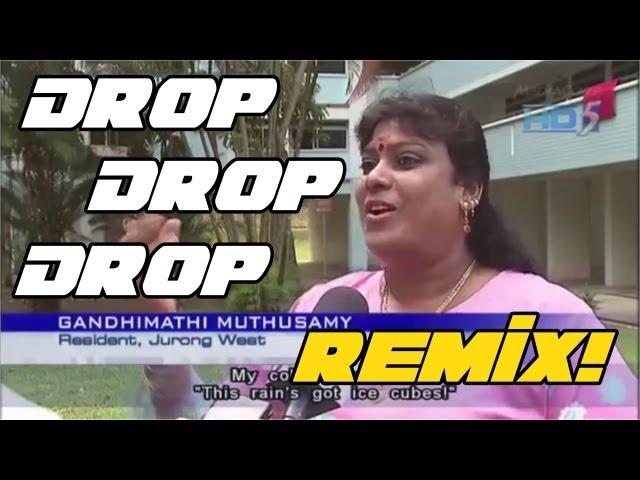 Singapore woman reaction to Hail - Remix