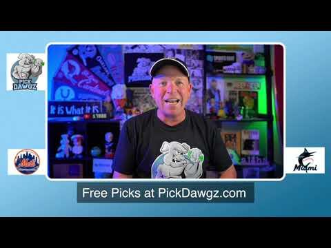 New York Mets vs Miami Marlins Free Pick 8/20/20 MLB Pick and Prediction MLB Tips