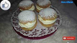 Semla/semlor نوع حلو سويدي
