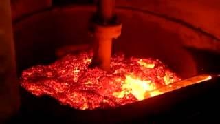 Hot aluminum dross/slag/ash recycling machine