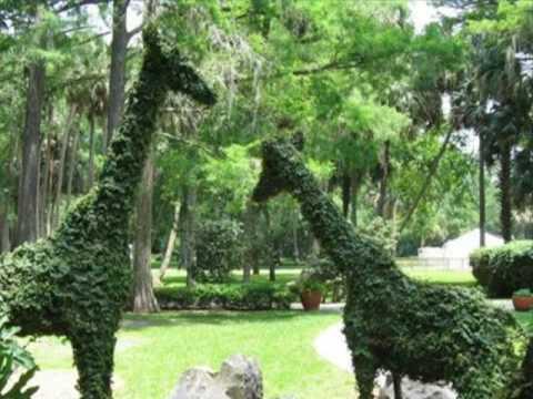 Sculptures in gardens esculturas en jardines youtube for Esculturas en jardines