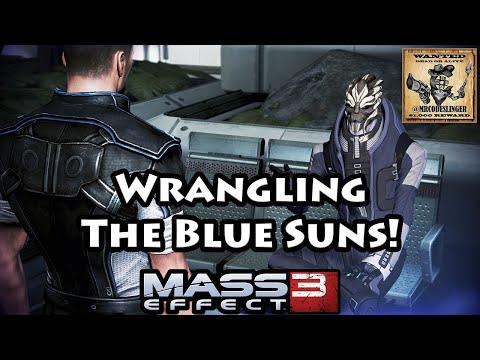 Mass Effect 3 - Aria Blue Suns Quest Walkthrough - 4K Ultra HD