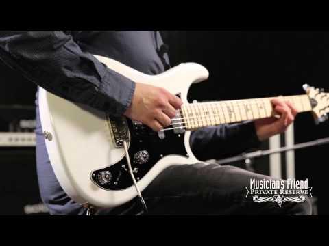 PRS Brent Mason Signature Electric Guitar Antique White