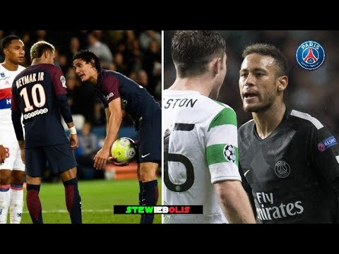 Neymar Jr ⚽ Best Fights & Angry Moments - PSG ⚽ 2017\2018 ⚽ HD #Neymar