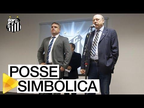 José Carlos Peres e Orlando Rollo tomam posse de forma simbólica