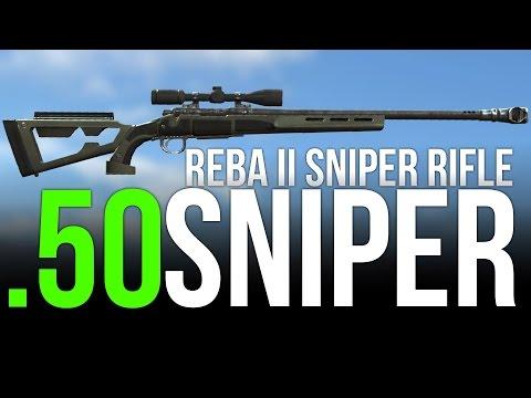 Fallout 4 Secret Weapons! (Reba II .50 Caliber Sniper!)