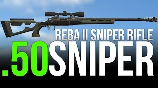Fallout 4 Secret Weapons Reba II .50 Caliber Sniper
