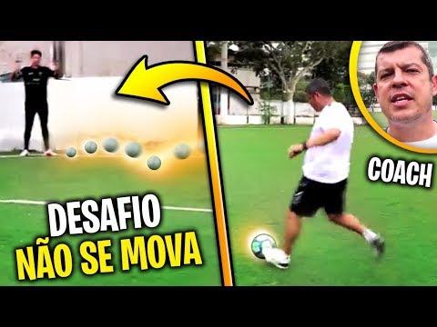 NÃO SE MOVA!!! (DESAFIO DE PRECISÃO) - NUNCA DESAFIE O COACH #3