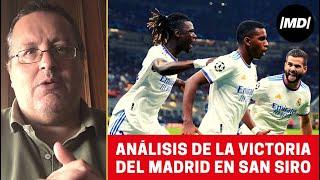 Analizamos la victoria del Real Madrid en San Siro
