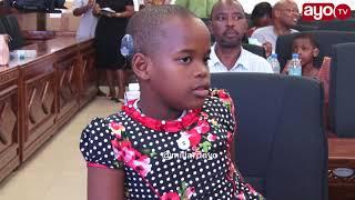 MAMA AMESIMULIA: Kwa mara ya kwanza kuona tatizo la Mtoto wake kutokusikia