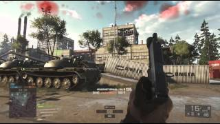 BF4 Sniper Scout Elite Quick Scope & are Rooftops Cheese?