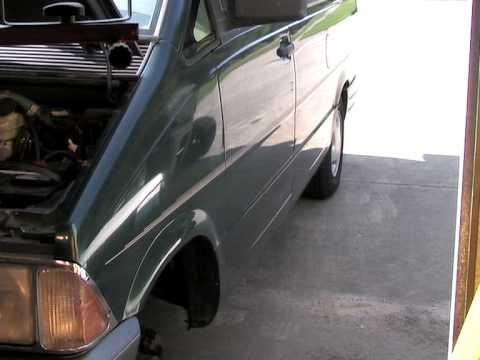 Fuel Filter on a 40 1996 Ford Aerostar Van